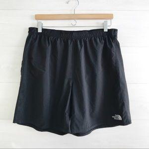 {The North Face} Black FlashDry shorts, L